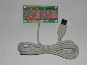 USB Numeric Displays